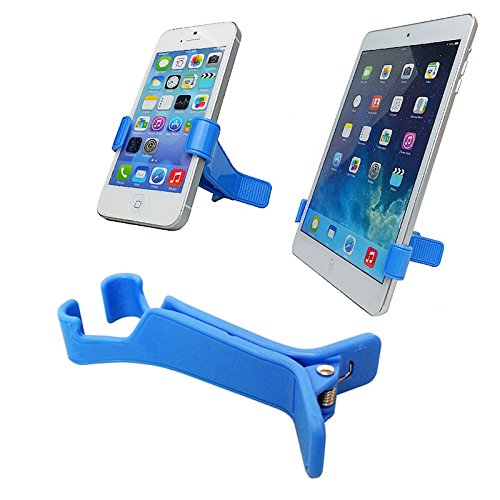 (Geekercity 2 Pack Cell Phone Tablet Stand Hairpin V Shape Mobile Phone Holder Clip for Smartphones)