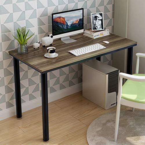 OutTop(TM) Desktop Computer Desk Household Desktop Computer Desk PC Laptop Study Table Office Desk Workstation for Living Room, Balcony, Study ,47.2 x 23.6 x 28.3 inch (Bronze) ()