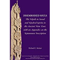 Disembodied Souls: The Nefesh in Israel and Kindred Spirits in the Ancient Near East, with an Appendix on the Katumuwa Inscription (Ancient Near East Monographs, Band 11)