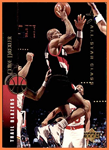 7be41a77b32 1994-95 Upper Deck #35 Clyde Drexler HOF HOUSTON ROCKETS COUGARS Phi Slama  Jama