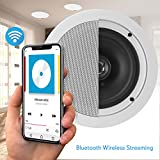 """Pyle 5.25"""" Pair Bluetooth Flush Mount In-wall"""