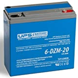 6-DZM-20 12V 20Ah Deep Cycle Sealed Lead Acid