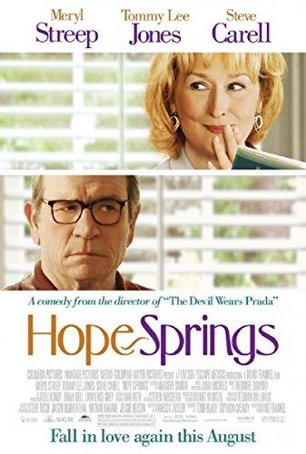 Hope Springs 2012 S/S Movie Poster 11.5x17 (Meryl Streep Tommy Lee Jones Steve Carell)