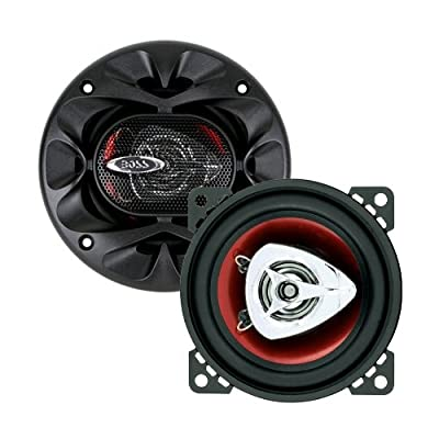 BOSS Audio CH4220 200 Watt (Per Pair), 4 Inch, Full Range, 2 Way Car Speakers (Sold in Pairs) by BOSS AUDIO