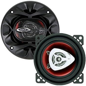 BOSS Audio CH4220 200 Watt (Per Pair), 4 Inch, Full Range, 2 Way Car Speakers (Sold in Pairs)