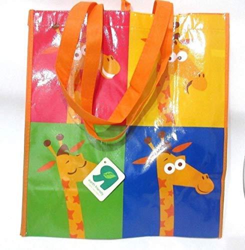 Toys R Us Babies R Us Geoffrey the Giraffe Reusable Lunch Bag w// Handle BLUE
