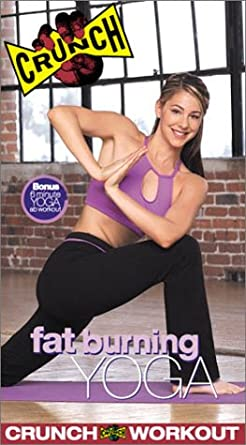 Crunch fat burning yoga dvd