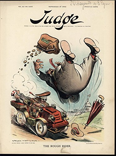 Roosevelt automobile Anti Trust Policy Uncle Sam 1902