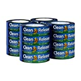 Duck Clean Release Blue Painter's Tape 1.5-Inch (1.41-Inch x 60-Yard), 16 Rolls, 960 Total Yards, 284373