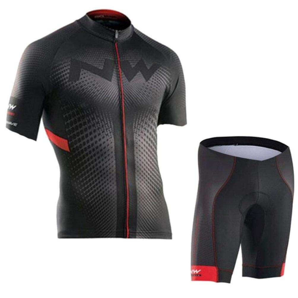 8 3XLarge Rzxkad Men Short Sleeve Cycling Jersey Suit Full Zip Moisture Wicking UV Predective Cycling Cloting Shorts