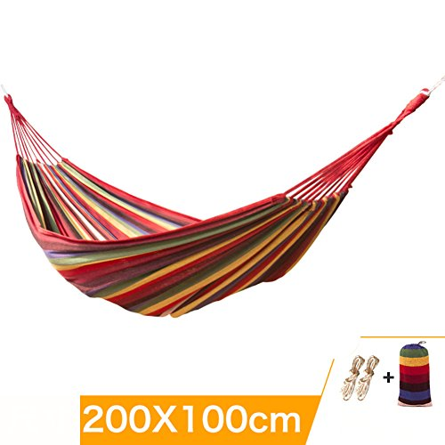 LJ Outdoor hanging rope double hammock off the sleeping net of adult children swinging camping hanging chair dormitory cradle chair single-I