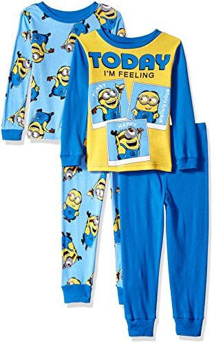 Despicable Me Boys 4-Piece Cotton Pajama Set