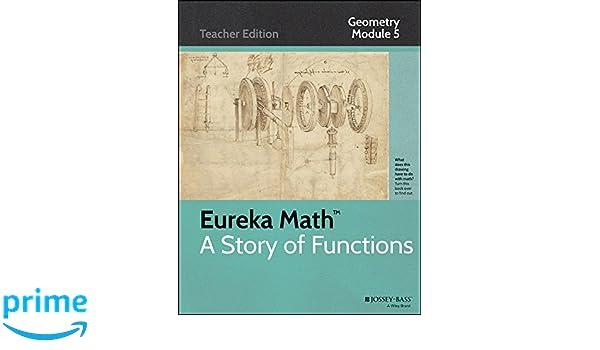 Amazon.com: Eureka Math, A Story of Functions: Geometry, Module 5 ...