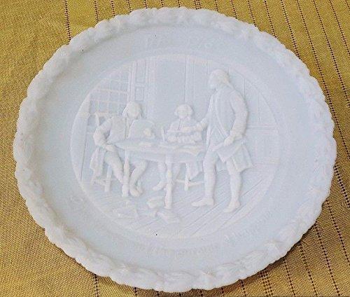 Fenton Fenton Christmas Plate - 7