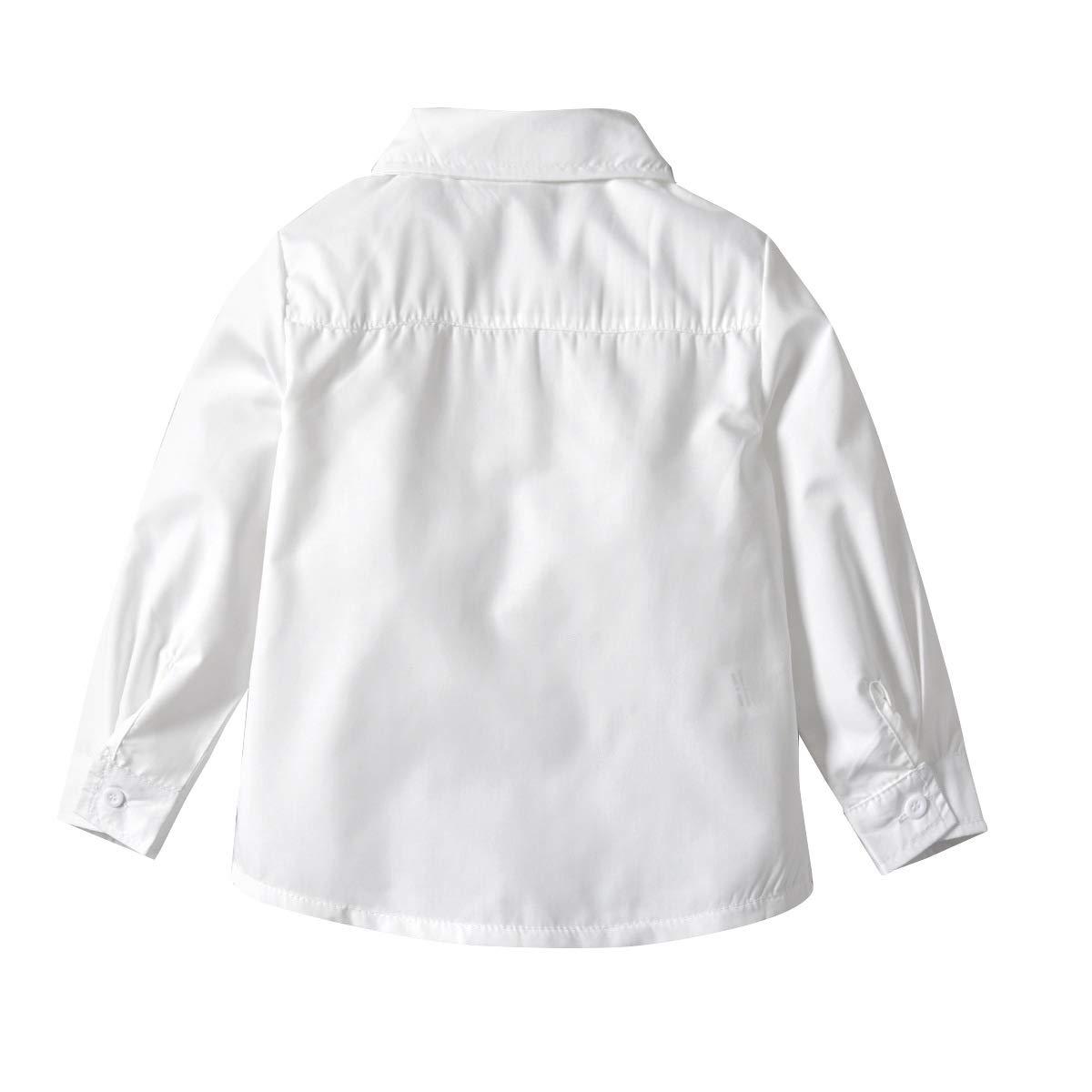 LAPLBEKE Conjuntos Niña Top Faldas Set Vestidos Niñas Recién Nacido Bebés Niñas Camiseta de Manga Larga Tops Bowknot + Enrejado Tutu Princesa de Fiesta Bautizo Conjunto de Ropa 12-24 Meses: Amazon.es: Ropa