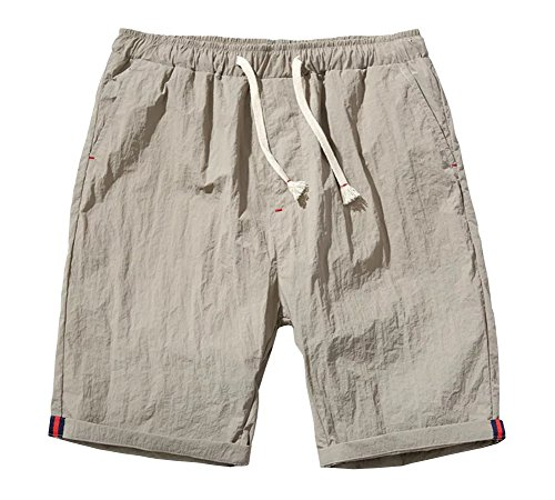 Billy Goat Cotton Shorts - Wxian Men's Beach Solid Color Casual Shorts