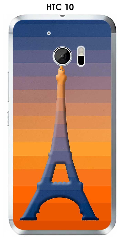 Onozo Carcasa HTC 10 Design Paris Tour en Relieve y Fondo ...