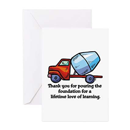 Amazon Cafepress Thank You Teacher Gifts Greeting Cards