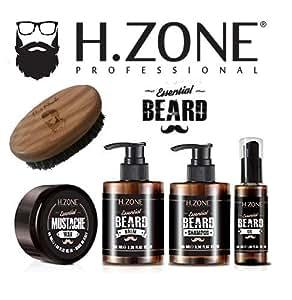 Kit de barba y bigote H-Zone Essential Beard - Renee Blanche