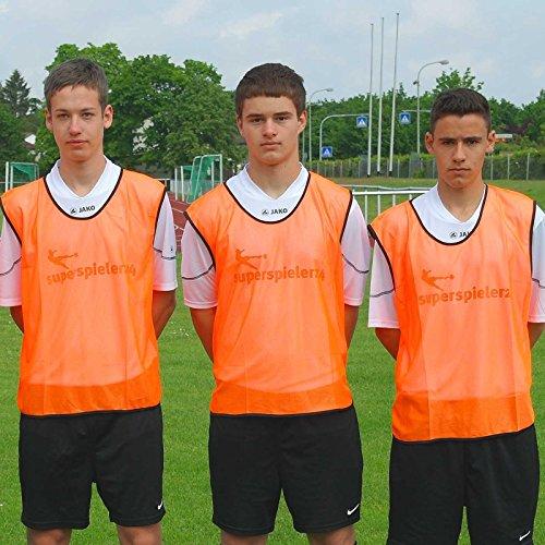 Leibchen für Erwachsene, Farbe: orange, für Teamsportbedarf - Fußballtraining
