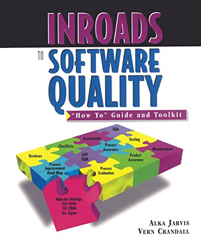 Inroads to Software Quality: How to Guide and Toolkit by Prentice Hall