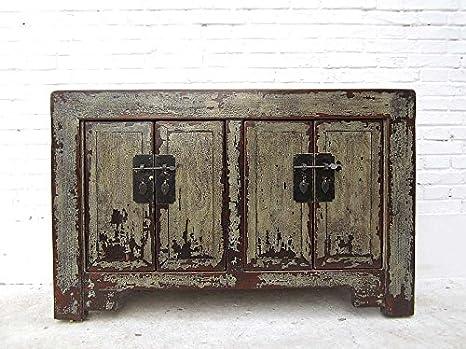 Credenza Vintage Da Cucina : Luxury park china credenza cassettiera graugruen laccato in legno di