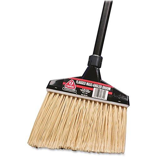 - O-cedar 91351EA MaxiPlus Professional Angle Broom, Polystyrene Bristles, 51