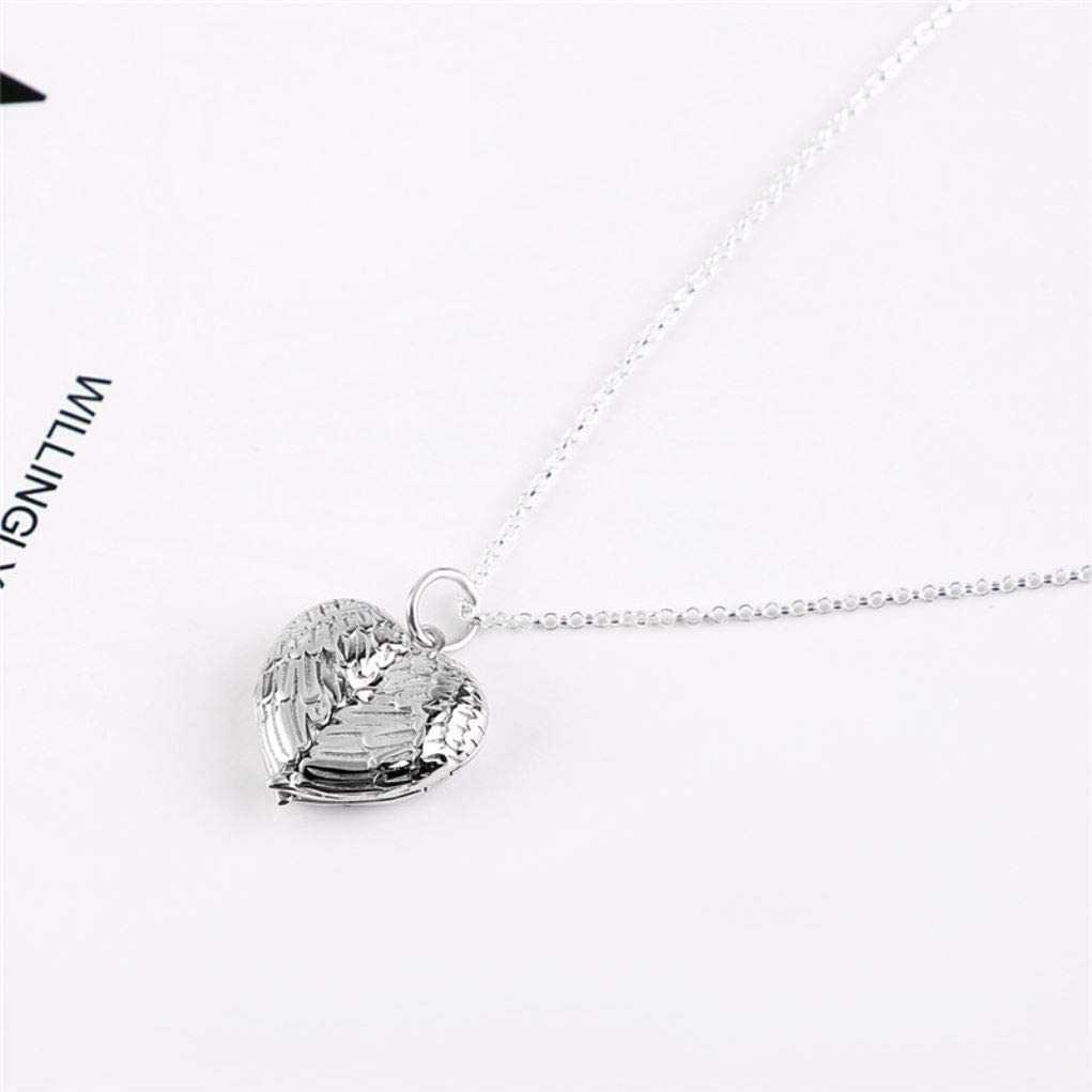 DXYAN Custom Couple//Family Photo Pendant Heart 925 Silver Chain for Women Fashion Jewelry 2019 New#ES40