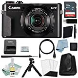 Canon G7x Mark II Digital Camera Bundle + Canon PowerShot g7 x Mark II Deluxe Accessory Kit - Including EVERYTHING You Need To Get Started