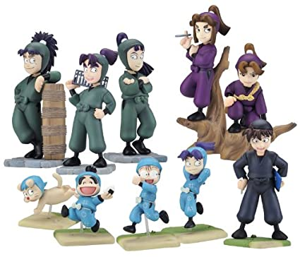 Amazon.com: One Coin Grande Figure Nintama Rantaro 9pieces ...