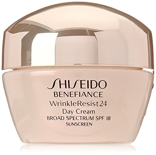 Price comparison product image Shiseido SPF 18 Benefiance Wrinkle-Resist 24 Day Cream for Unisex,  1.8 Ounce