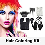 22PCS Hair Dye Coloring Kit, Anself All-in-one