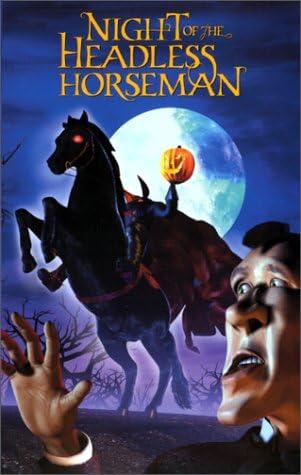 Amazon Com The Night Of The Headless Horseman Vhs Luke Perry Tia Carrere Clancy Brown William H Macy Mark Hamill Shane Williams Movies Tv