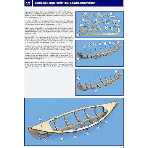 Outletdelocio. Artesania Latina 19001-N. Maqueta de Barco Vikingo en Madera. Viking. Escala 1/75 + Herramientas. 8898/57395: Amazon.es: Juguetes y juegos