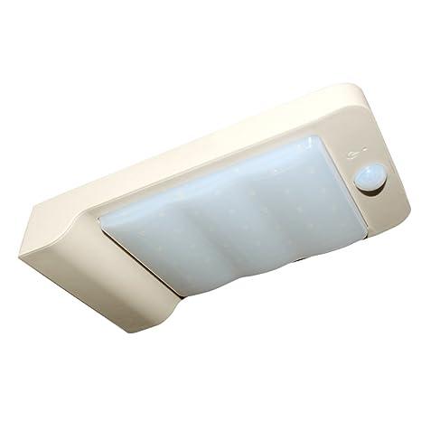 32 LED Solar luces, tocean Sensor de movimiento inalámbrico funciona con energía solar luces al