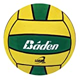 Baden Lexum Official Size 5 Deluxe Rubber Water Polo Ball, Green/Yellow