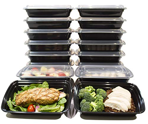 Save on 20 Pack 24 Oz. Meal Prep Containers BPA Free