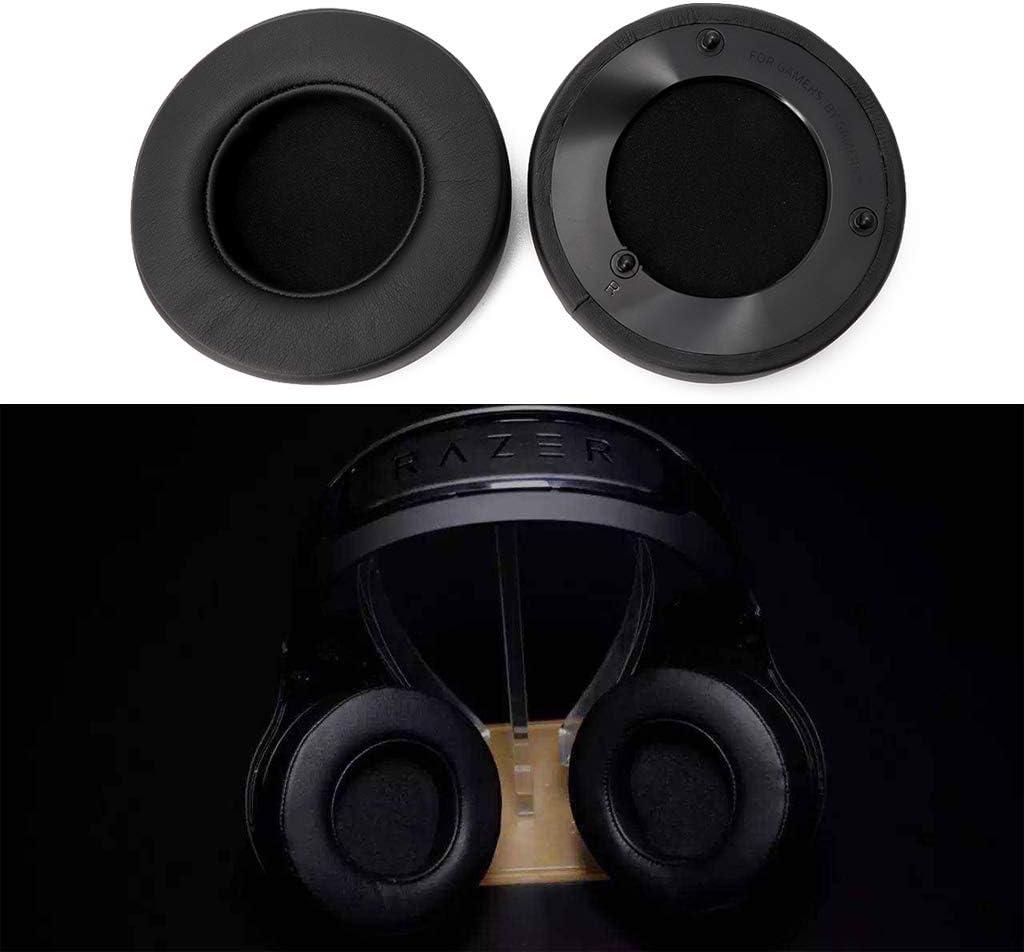Lukalook Replacement Earpad Earmuff Cushion for Razer ManOWar 7.1 Headphones Headsets