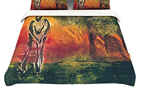 18 x 18 Kess InHouse Josh Serafin 1st /& 10 Throw Pillow Baseball Green