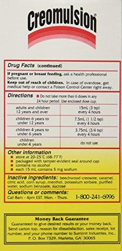 Creomulsion Cough Medicine 4 Oz Photo #4