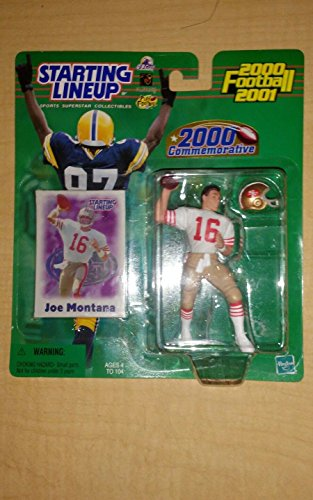 2000 Starting Lineup Joe Montana Commemorative San Francisco 49ers