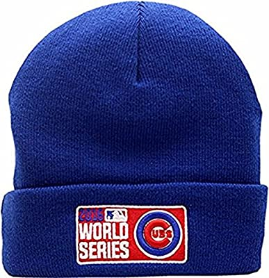 Chicago Cubs 2016 World Series Cuffed Knit Hat