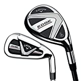 Callaway Men's Edge 8-Piece All Golf Hybrid Iron Set, Right Hand, Graphite, Regular, 4H-6H, 7-PW, AW