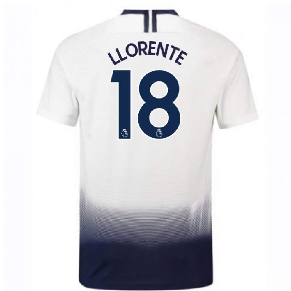2018-2019 Tottenham Home Nike Football Soccer T-Shirt Trikot (Fernando Llorente 18) - Kids