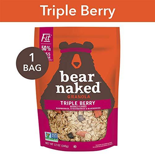 - Bear Naked Triple Berry Fit Granola - Non-GMO | Kosher | Vegan - 12 Oz