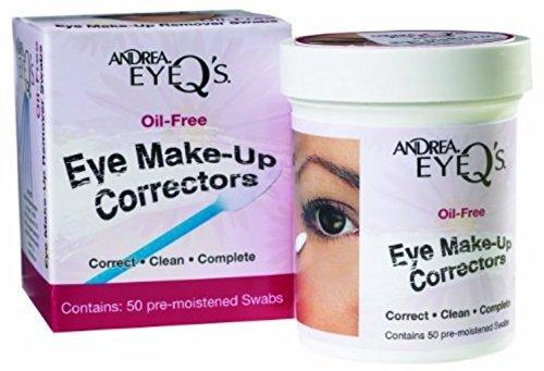 Andrea Eye Q's Oil-Free Make-Up Correctors 50 ea (Pack of 4)