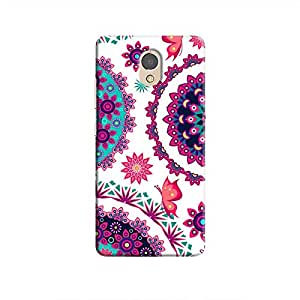 Cover It Up - Flower Design White P2 Hard Case