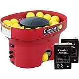 Heater Sports Crusher Professional Mini Lite-Ball Pitching Machine with BONUS Steel Tripod & 8 Hour Battery