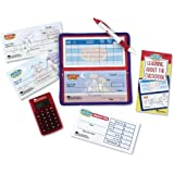 Learning Resources Pretend & Play Checkbook with Calculator