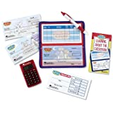 : Learning Resources Pretend & Play Checkbook with Calculator and Checks